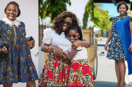 "Gospel Singer Diana Hamilton And Pretty Daughter Stun Social Media With Adorable Photos As They ""Twin"" In Beautiful Outfit (See)"