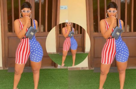 Benedicta Gafah Says She Is Exclusive Baby As She Flaunts Her R@w 'January B0dy' Online In B!kini (Photo)
