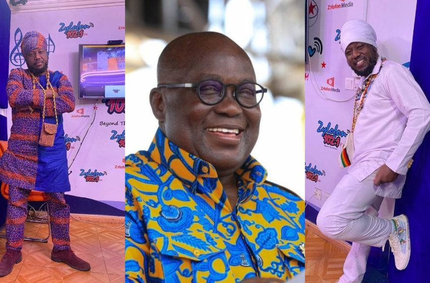 President Akufo Addo Sleeps Unprovoked Every Two Seconds – Blakk Rasta Boldy Speaks (Watch Video)