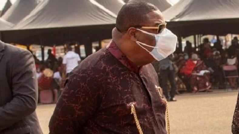 Archbishop Duncan Williams Breaks Silence On Why He Wore Two Nose Masks At Rawlings' Funeral