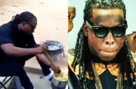 Video Of Ayigbe Edem Cooking Banku Surfaces Online