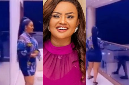 Glass Nkoaa! Nana Ama McBrown Flaunts Her Mansion And Dance Moves In New Video