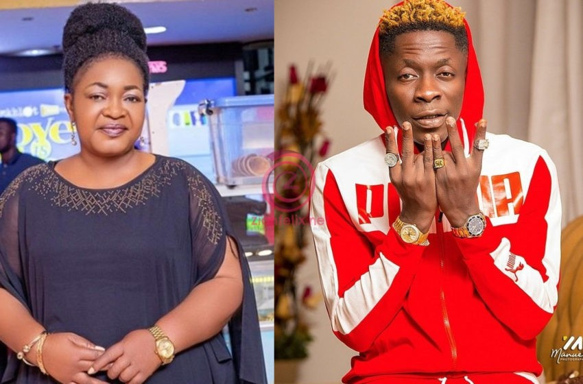 Actress Christian Awuni Scolds Shatta Wale For The Unprintable Words He Used On Ayisha Modi Amidst Their Beef (Video)