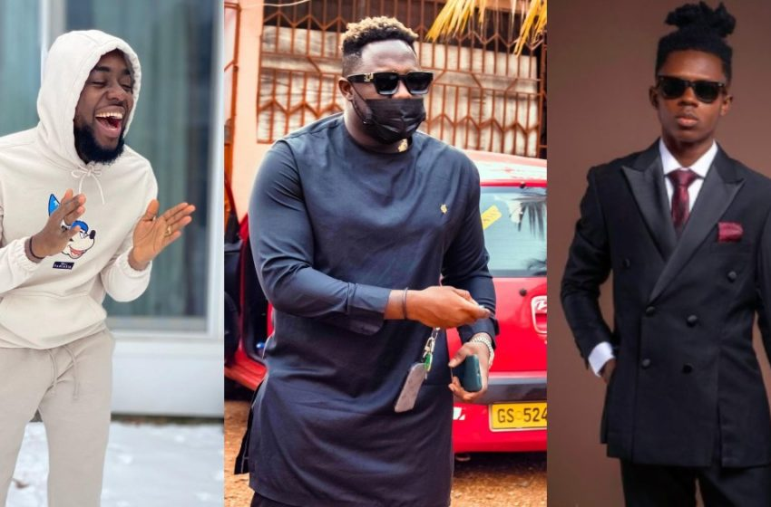 My Previous Beef Was With Strongman So My Next Beef Must Be With Someone Above Not Below Me – Medikal Jabs Teephlow Again (See Post)