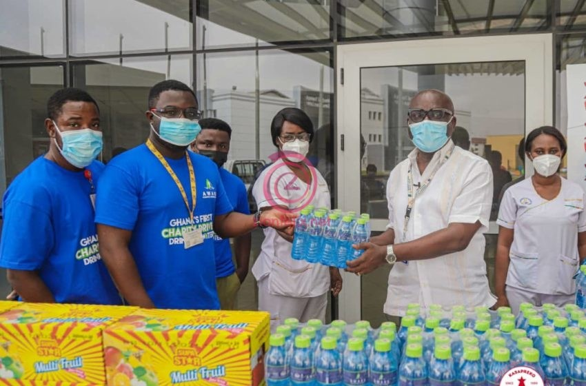 Kasapreko Celebrates Val's Day With UGMC & Ghana Infectious Disease Centre