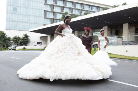 A Dressmaker Makes A Ball Gown With 2000 Yards Of Horsehair