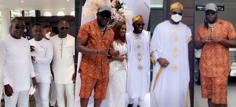 See Exclusive Videos Of Kency 2020 1st Marriage Anniversary And Baby Naming Ceremony Happening Now At Despite's Mansion