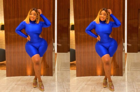 Moesha Buduong Get Fans Talking As She Shows Her Big G00dz In White See Through Dress (Photo)