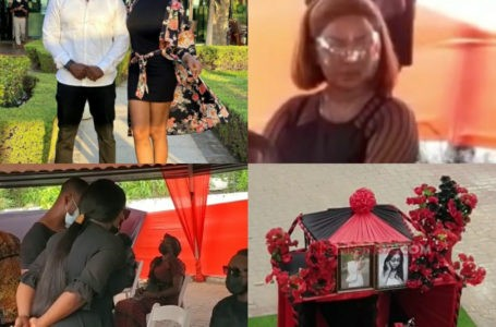 Nana Ama McBrown, Gloria Sarfo, Eddie Watson and Other GH Celebrities Storm One Week Commemoration Of Eddie Nartey's Wife (Videos)