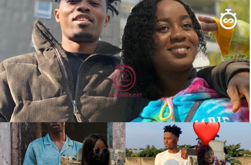 Beautiful Lady Shares Cozy Photos With Kwesi Arthur, Captions Them LOML