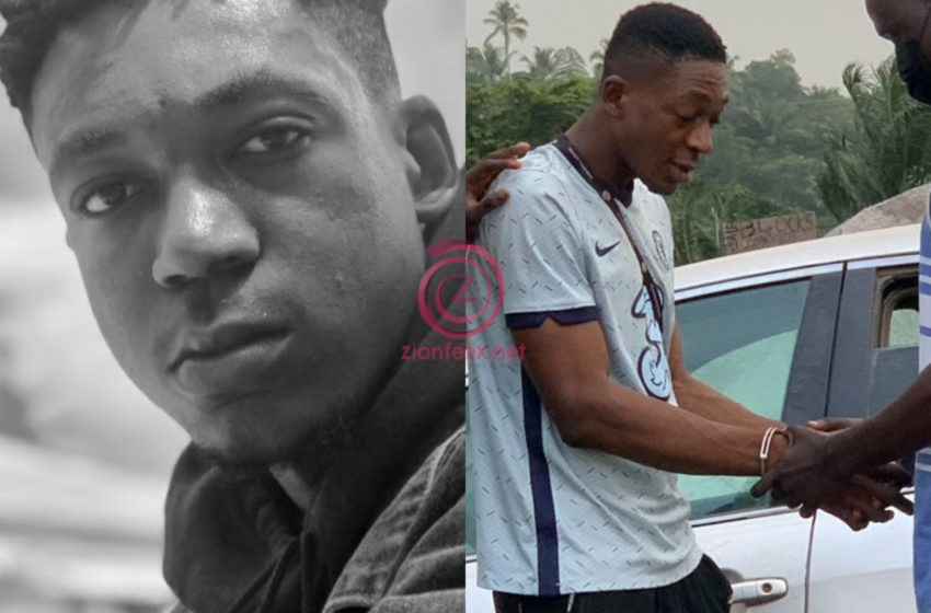 Rapper Nana Essel Arrested In Handcuffs for Defrauding Girlfriend Off 10K (Photos)