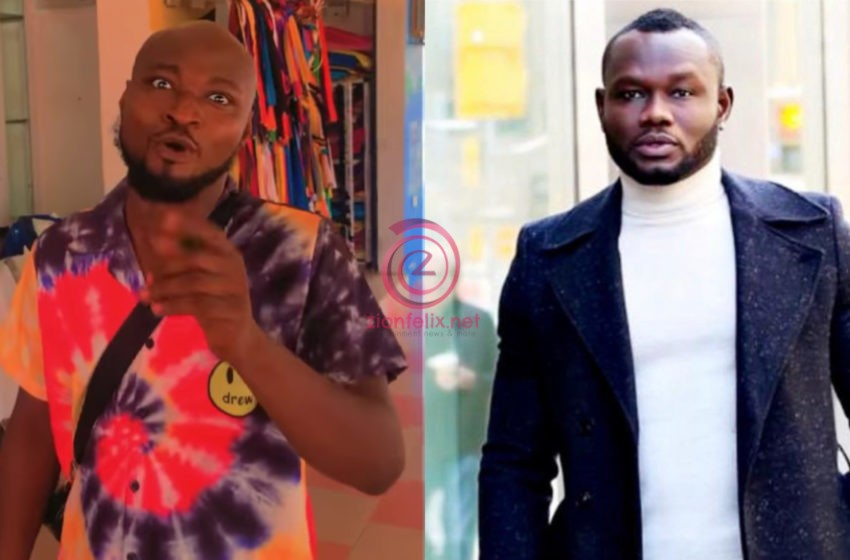Angry Funny Face In$ults Prince David Osei Publicly And Threatens To Drop All His Secrets Online (+screenshot)