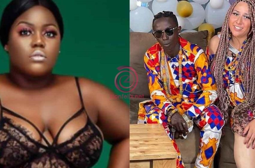 Patapaa's Ex, Original Queen Pezzy Goes D!rty As She Drops Diss Song For Him And His 'Obroni' Wife, Liha (Video)
