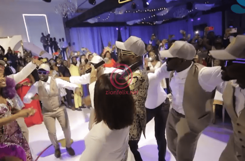 Unseen Video Of The Adorable Moment Despite's Son, Kennedy 'Became' Sarkodie To Sing 'Baby' For Tracy At Kency2020 Hits Online