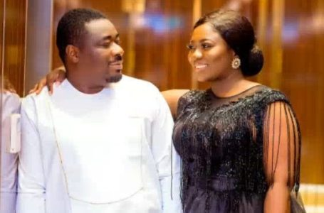 Stacy Amoateng's Husband, Quophi Okyeame Curses People Scheming To Shame Her For No Reason (-screenshot)