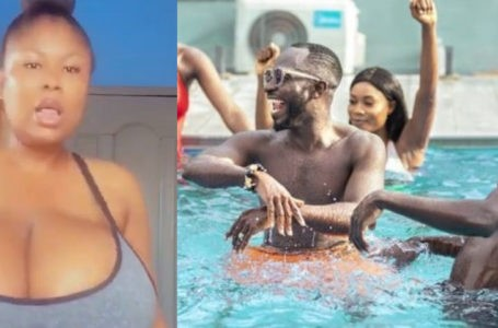 Lady With 'Forfor' Bigger Than That Of Pamela Odame Shocks Okyeame Kwame As She Joins #Yeekochallenge And Shakes Her Big Goodies (Video)