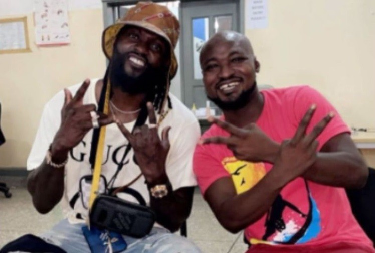Emmanuel Adebayor Finally Visits Funny Face At The Accra Psychiatry Hospital After He Missed His Way Recently (Video)