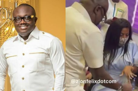 Bola Ray Takes The Dance Floor With Nana Aba On His Birthday (Video)