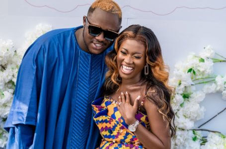 Fella Makafui Pens Down Emotional Post To Medikal As They Mark Their 1 Year Wedding Anniversary