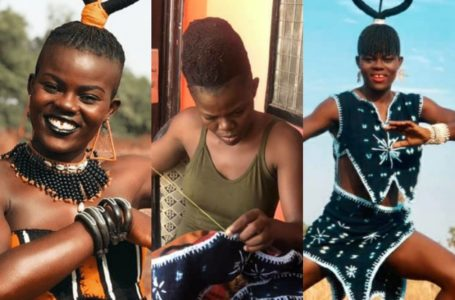 """Wiyaala Releases Photos Of Her Self-Made """"Crazy Costumes"""" – See"""
