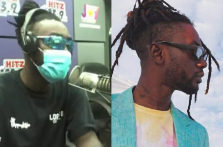 Watch Hilarious Moment Pappy Kojo Hosted And Interviewed Himself On Hitz FM (Video)