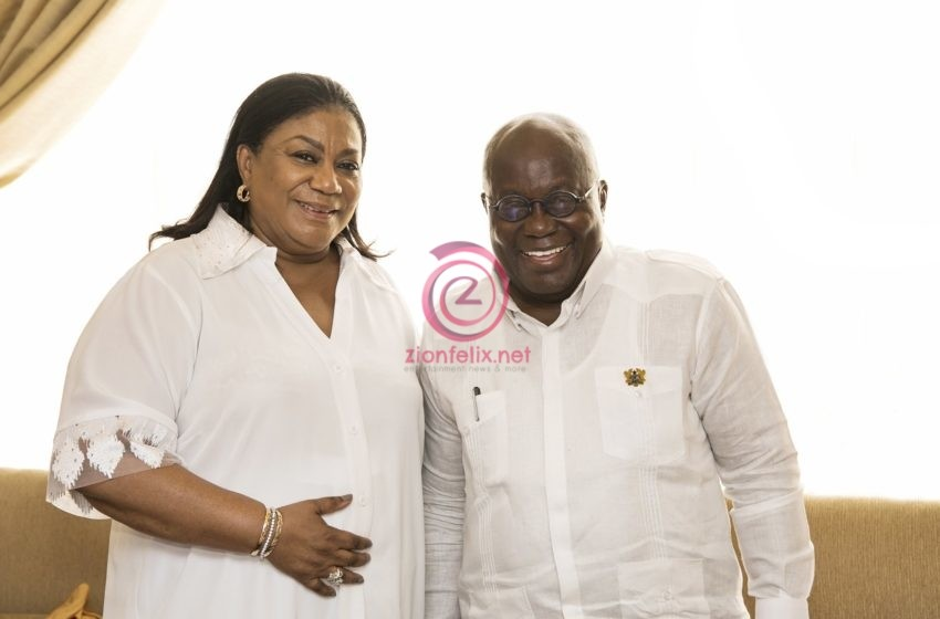 """""""My Mind Dey For You"""" – First Lady Tells Akuffo-Addo As He Marks His 77th Birthday"""