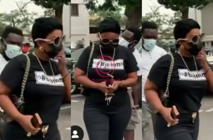 Nana Ama McBrown Returns To Court For Proceedings On Bulldog's Case (Video)