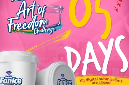 FanIce Art Of Freedom Challenge: 5 Days Left For Digital Submissions To Be Closed