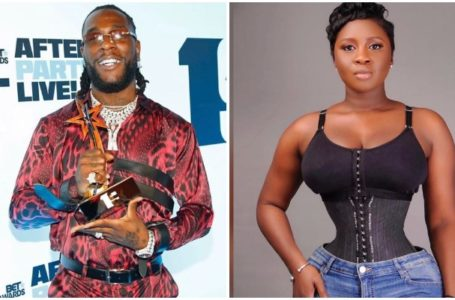 Princess Shyngle All Over Her Ex, Burna Boy After He Won A Grammy Award; Shares Their Intimate Videos Online (Video)