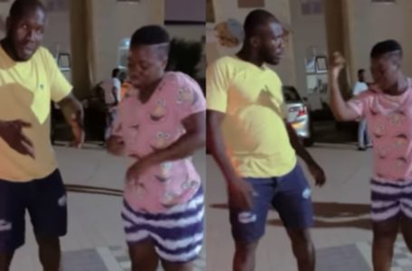 Hilarious Moment Dr. Likee Run For His Life During A Heated Dance Battle With Tik-tok Star, Asantewaa