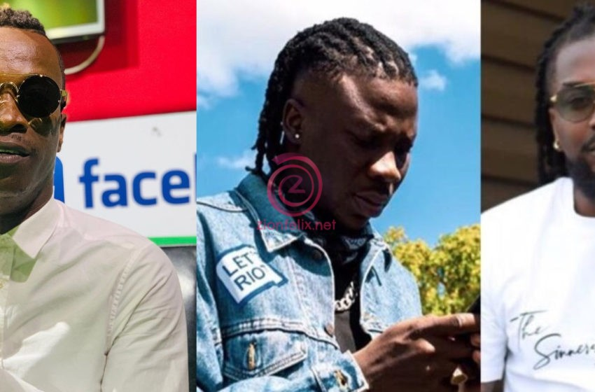 "VIDEO: ""When You Disrespect A Kid, The Kid Will Disrespect You "" – KK Fosu Tells Samini Amid His Banter With Stonebwoy"