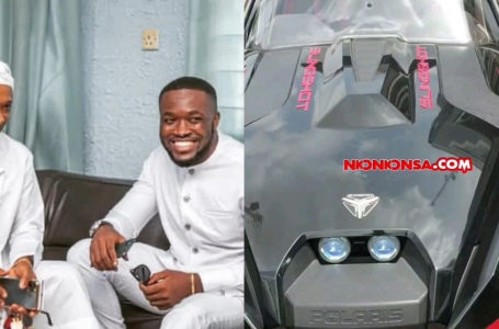 Kennedy Osei Adds An Estimated $32,000 Polaris Slingshot Car To His Fleet – Exclusive Video Of The Test Drive With Fadda Dickson Hits Online