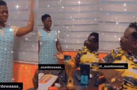 Koo Fori And His Daughter, Asantewaa Drop A Hilarious Video About 'F00ling'