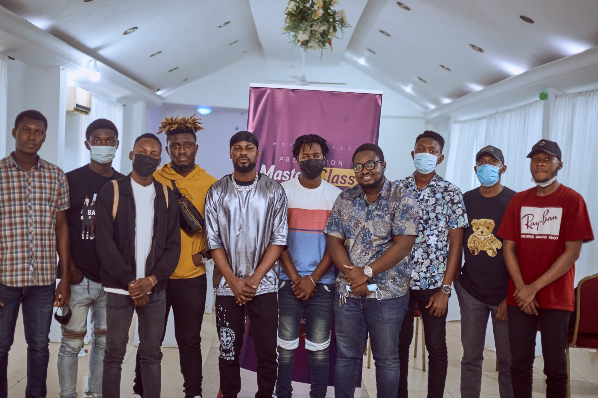 Mix Master Garzy Holds 'Production Master Class' For Young Ghanaian Music Producers
