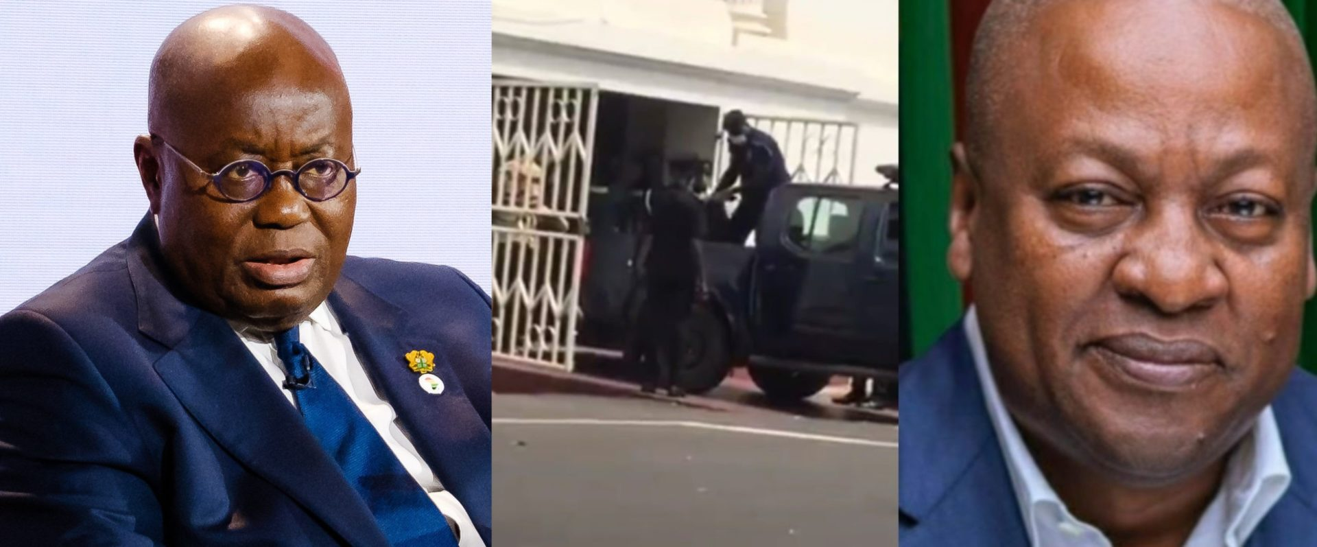 Man Reportedly Dies After Supreme Court Dismissed John Mahama's Petition Against Nana Addo And EC (Video)