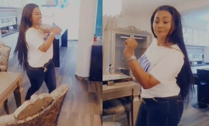 Video Of Nana Ama Mcbrown Jubilating After Her Court Appearance In Her Plush House Surfaces Online