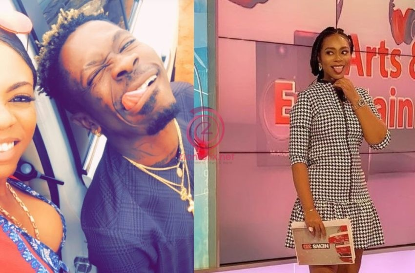 Confusion! Michy Mentions Her Name As 'Shatta Michy' On Live TV After She Dropped The Name Recently (Video)