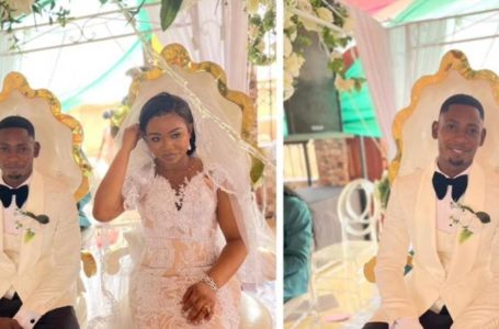Check Out All The Beautiful Exclusive Photos And Videos From Richard Agu And Benedicta's Wedding