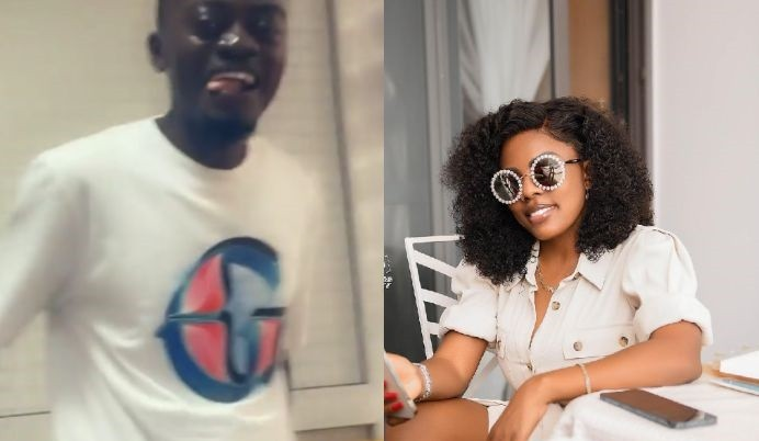 """""""Do You Know I Love You"""" – Nana Aba Asks Lilwin As He Storms Her Office And Cracks Her Up With W!cked English (Video)"""