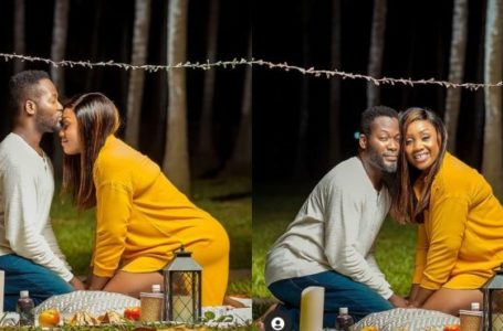 Adjetey Anang And His Beautiful Wife Celebrate Their 14th Marriage Anniversary; He Shares Adorable Photos On Social Media
