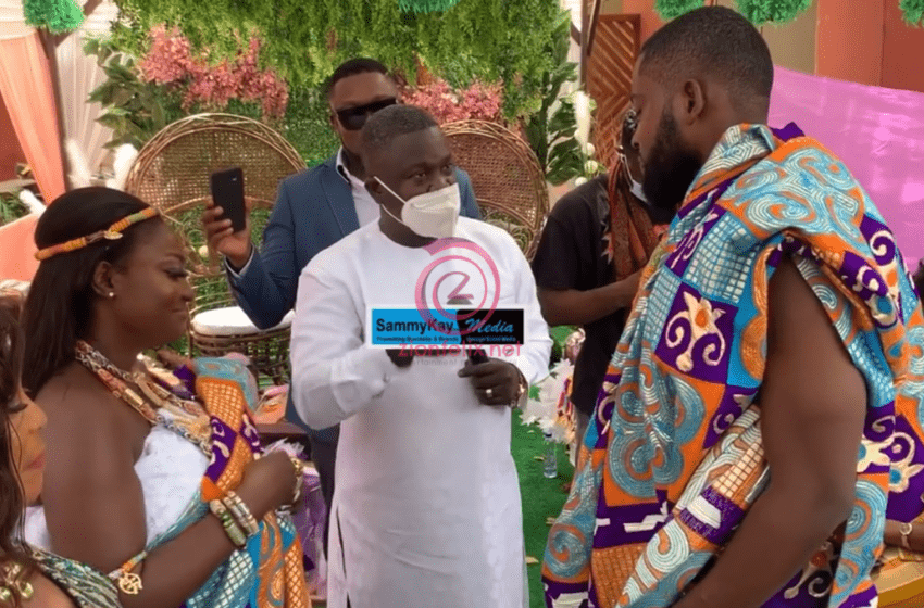 See First Photos Of The Handsome Man Marrying Despite Media's Abena Moet