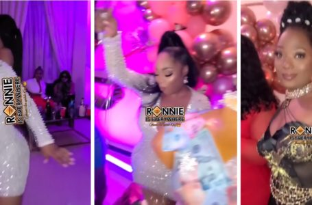Efya, Sandra Ankobia, Kalybos, And Other Top Stars Make An Appearance At Moesha Buduong's Private Birthday Party (Videos)