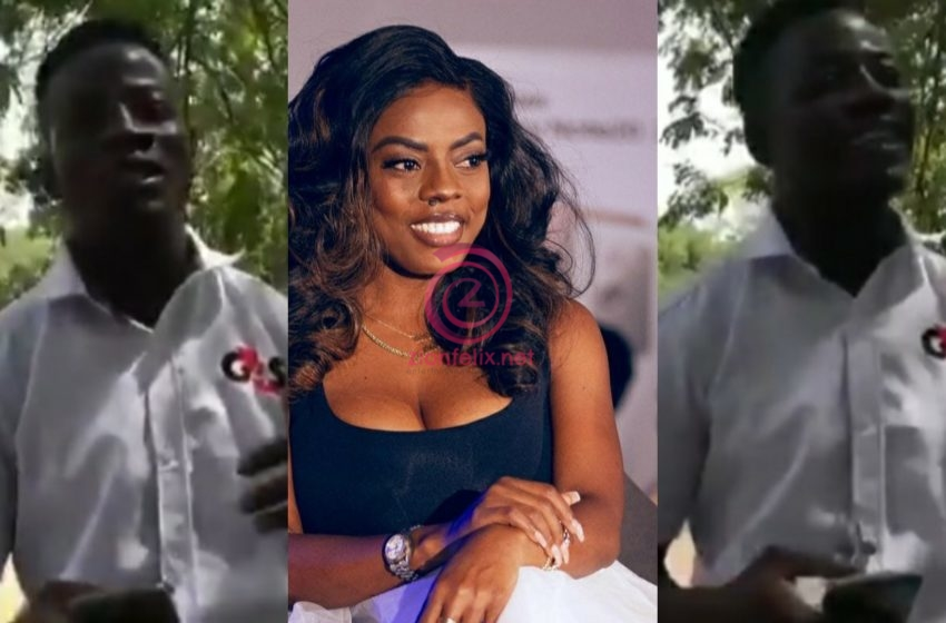 Nana Aba Offers To Help Security Man Who Has A Passion And Talent In Radio Presenting (Video)