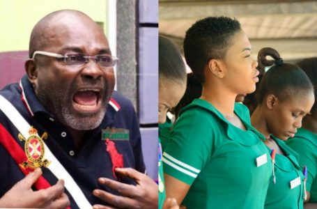 Ghanaian Nurses Have Horrible Attitudes – Kennedy Agyapong Clashes With Nurses At Korle-Bu (Video)