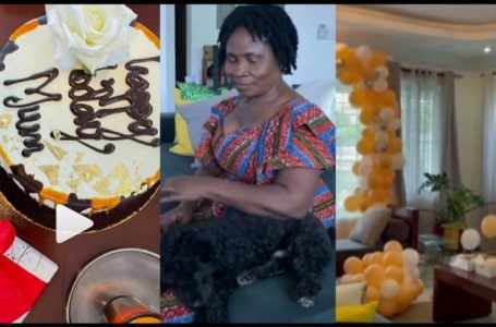 Lydia Forson Throws Huge Birthday Party To Celebrate Her Mum (Videos)