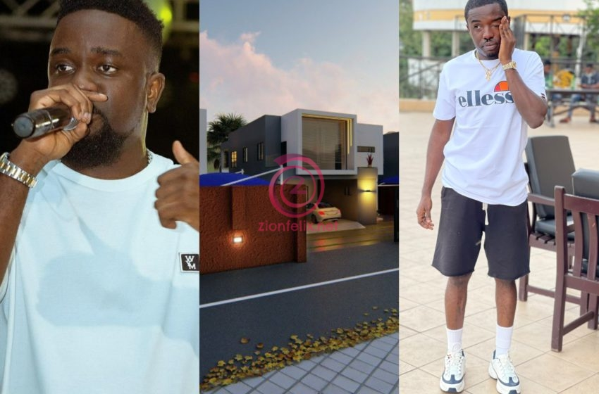 Sarkodie Invests In Real Estate As He Plans To Buy A Second House From Criss Waddle In Just A Year