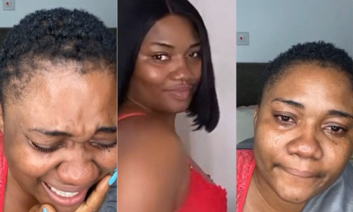 Abena Korkor Addo Weeps Uncontrollably As She Announces Her Sack From TV3 (VIDE0)