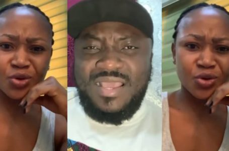 VIDEO: Akuapem Poloo Quickly Fires Back At DKB; Tells Him To Apologize To Her Before She Exposes Him