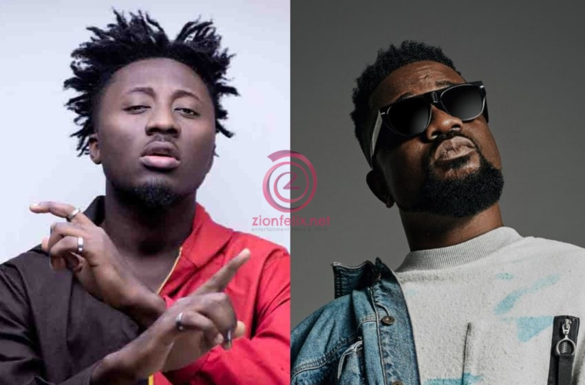 Amerado Angrily Walks Out Of A Live Radio Interview After The Presenter Pestered Him With Questions About Sarkodie (Video)