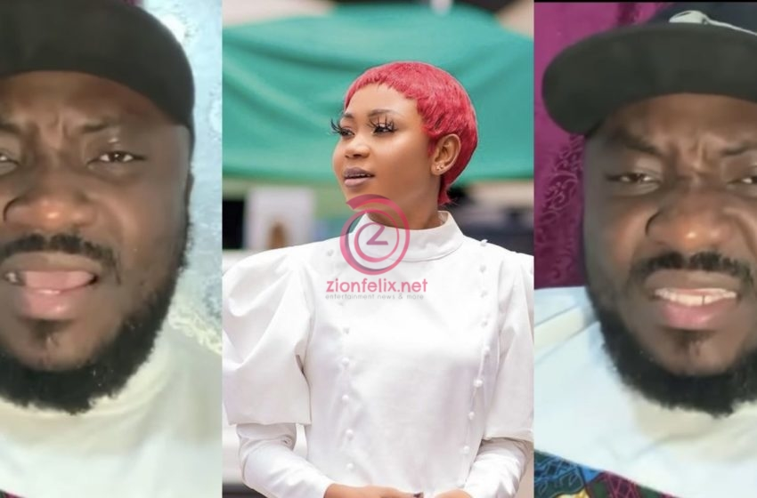 VIDEO: Akuapem Poloo's Current State Behind Bars Revealed By DKB After He Paid Her A Visit